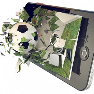 fútbol smartphone