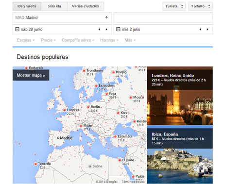 flight search google