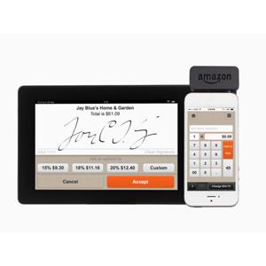 amazon lector de tarjetas de crédito mediante teléfono móvil