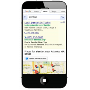 search marketing mobile