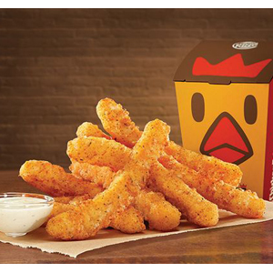 CHICKEN FRIES BURGER KING