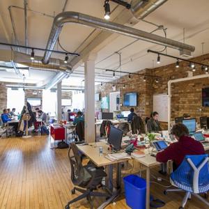 Los emprendedores eligen las oficinas hipsters para trabajar2