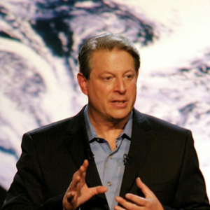 Al Gore in Davis Guggenheim's documentary An Inconvenient Truth.