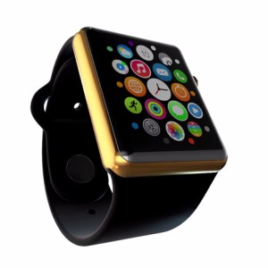 apple watch dorado gold parodia