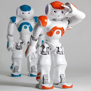 unilever robots nao humanoides