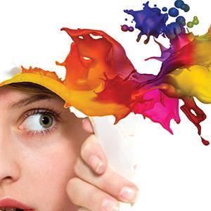 colores visual creatividad