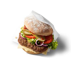 McDonald's McB hamburguesa orgánica