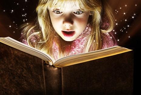 girlreading magia leyendo libro mágico
