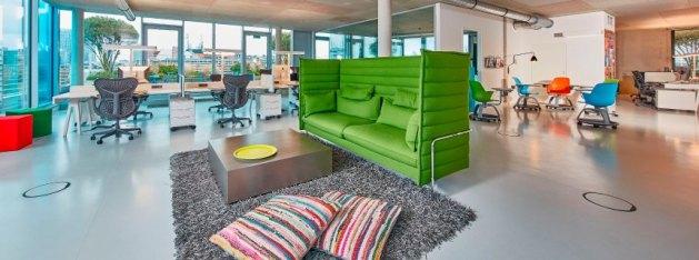 16 fabulosas oficinas a las que irá más contento que unas pascuas a trabajar
