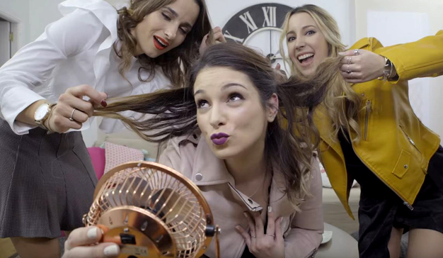 Las influencers Laura Trevijano, Sylvia Salas y Marta Bel, protagonistas de la web serie de Sephora