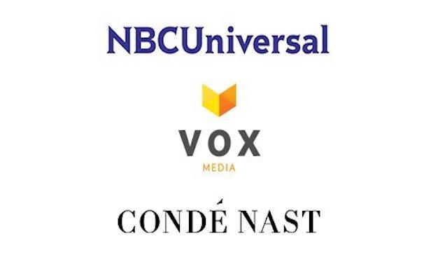 Condé Nast, NBC Universal y Vox Media se unen para ofrecer publicidad de manera conjunta
