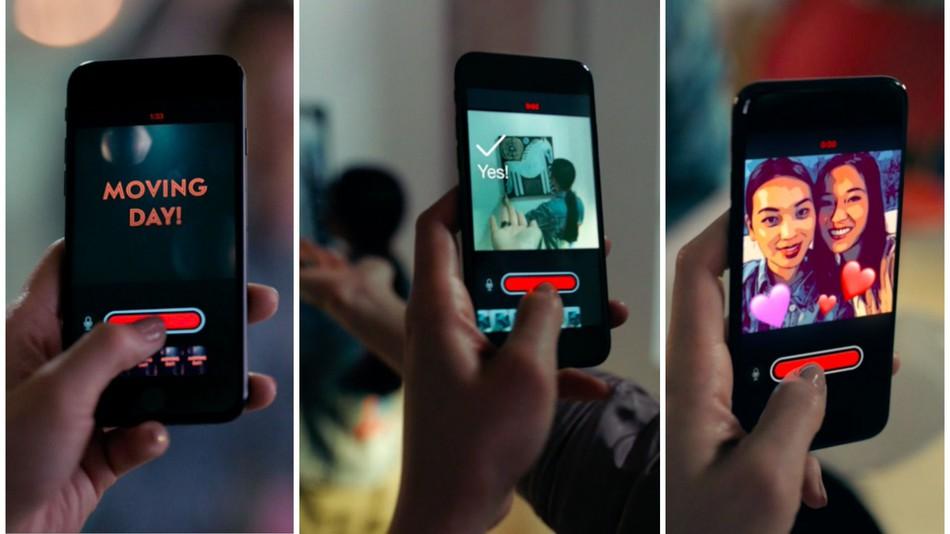 Apple desafa a sus rivales lanzando la app clips un hbrido entre apple desafa a sus rivales lanzando la app clips un hbrido entre imovie y snapchat malvernweather Choice Image