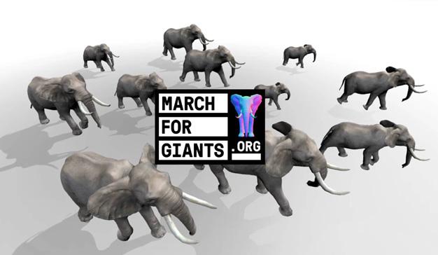 """""""March for giants"""", la acertadísima campaña que une tecnología y concienciación social"""