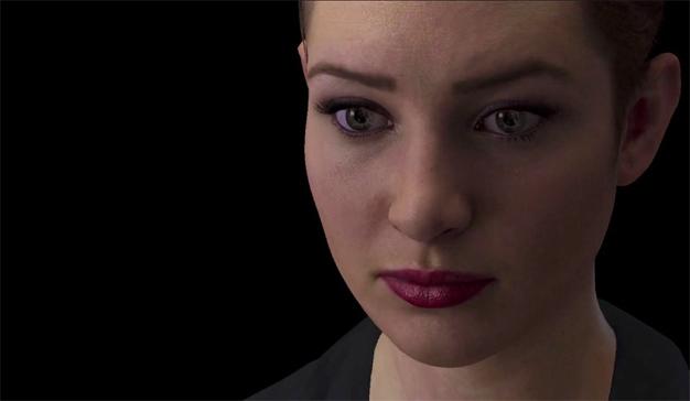 """Le presentamos a Nadia, el chatbot espeluznantemente """"humano"""" que lee sus emociones"""