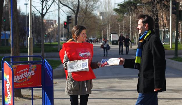 Madrid y Barcelona se unen a la #FiebreSkittles
