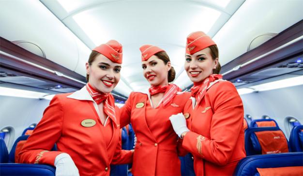La aerolínea rusa Aeroflot sólo quiere azafatas delgadas
