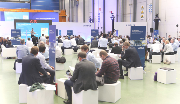 Eventisimo organiza el '5th Industrial Management Forum' de Airbus en Toledo