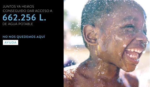 Auara y Hawkers reúnen a las grandes startups para llevar más de 650.000 litros de agua potable a África
