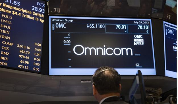 Omnicom pega el estirón en Europa, pero merma en su Norteamérica natal