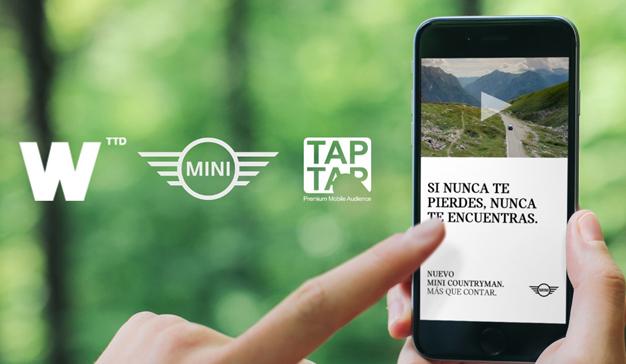 Wink y TAPTAP, la estrategia móvil que multiplica por 7 el engagement de MINI Countryman