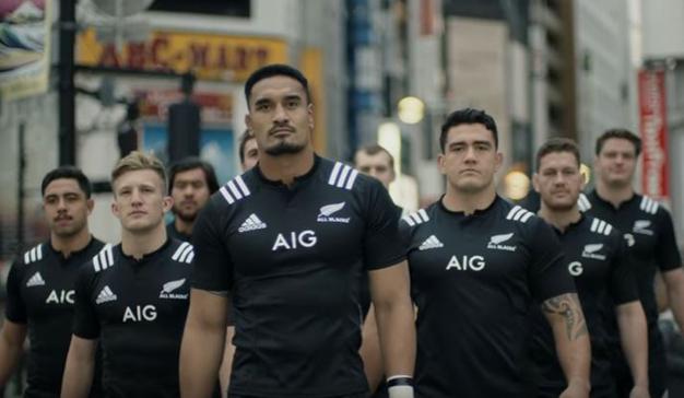 El equipo de rugby All Blacks protagoniza el nuevo spot de AIG