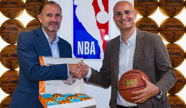 Dunkin' Coffee, nuevo patrocinador oficial de la NBA en España