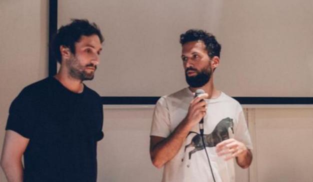 Nicolás Diaco y Ezequiel De Luca, directores creativos de Virtue, visitan la escuela Brother
