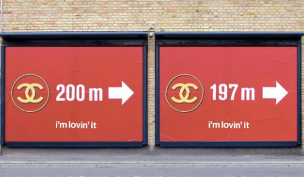 El lujo y la calle se dan la mano en este curioso mix de logos