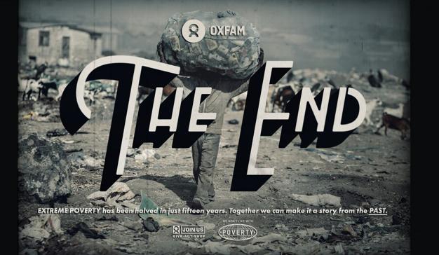 Oxfam pretende convertir a la pobreza en una historia del pasado en su nueva campaña