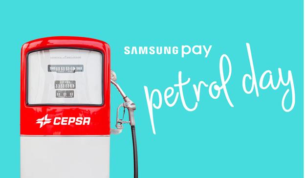 Samsung celebra el Petrol Day premiando a los clientes que paguen su repostaje con Samsung Pay en las estaciones Cepsa