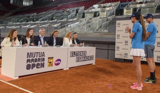 Samsung, patrocinador oficial del torneo Mutua Madrid Open por sexto año consecutivo