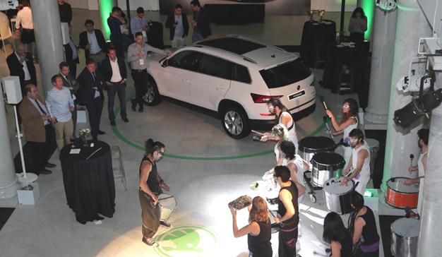 Škoda Kodiaq conecta con lo inesperado