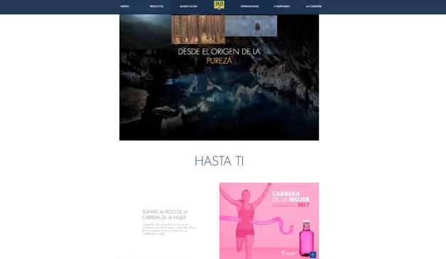 La página web de Solán de Cabras, única web de bebidas españolas con certificado de accesibilidad AA