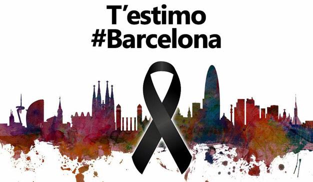 Las redes sociales se inundan de solidaridad y condena tras el atentado de Barcelona