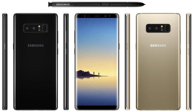 Se filtran las primeras imágenes del Samsung Galaxy Note 8