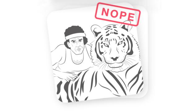 Tinder lanza una campaña para zamparse de un bocado los selfis con tigres