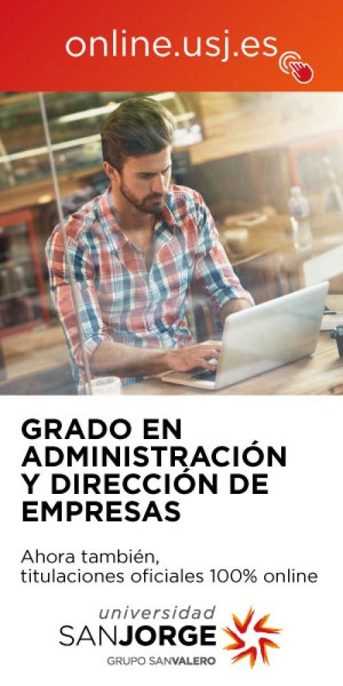 La Universidad San Jorge forma a los líderes del futuro con el Grado ADE (online)