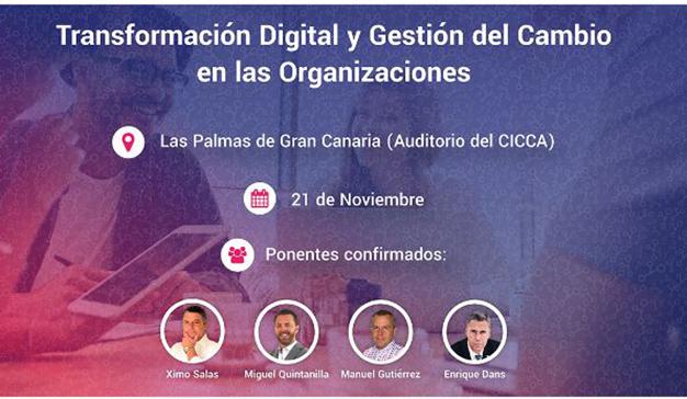 Llega el evento sobre Transformación Digital y Gestión del cambio organizado por Laycos