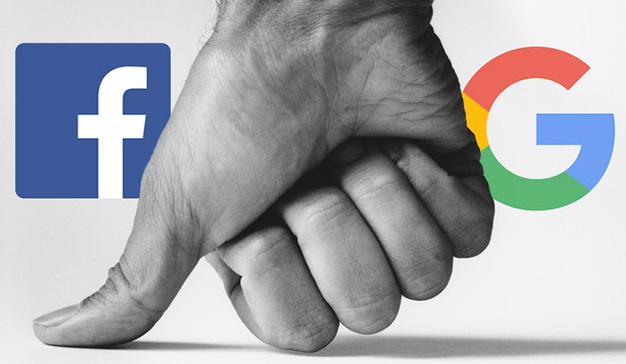 El mercado de los anuncios digitales tiene dos claros líderes: Google y Facebook