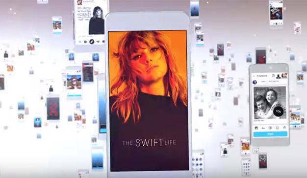 "Taylor Swift reta a su archienemiga, Kim Kardashian, lanzando la app ""The Swift Life"""