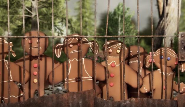 En esta golosa parodia de The Walking Dead Barrio Sésamo reemplaza los zombis por galletas