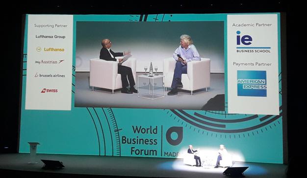 """Richard Branson (Virgin): """"Las empresas deben comprender que son ciudadanos del mundo"""""""