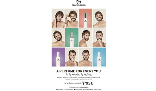 "Equivalenza lanza la campaña ""A Perfume for Every You"""