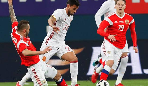 El partido España-Rusia obtiene el Spot de Oro semanal para Telecinco