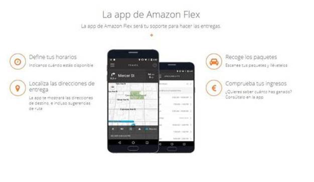 Amazon busca repartidores autónomos por 14 euros la hora