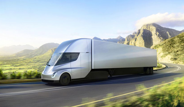 Elon Musk presenta Tesla Semi, su primer camión eléctrico