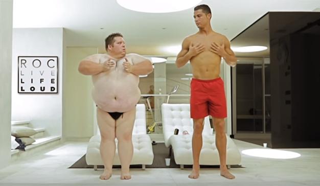 Cristiano Ronaldo deja ver su lado más divertido en este spot