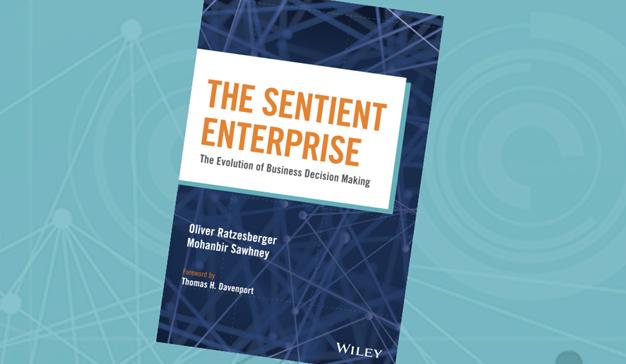 The Sentient Enterprise: el nuevo libro empresarial sobre el futuro de la analítica