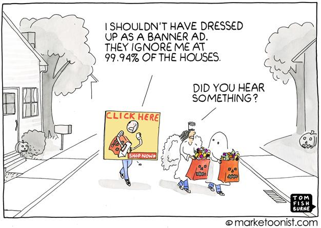 Estas viñetas muestran con humor (y grandes dosis de verdad) la evolución de la publicidad