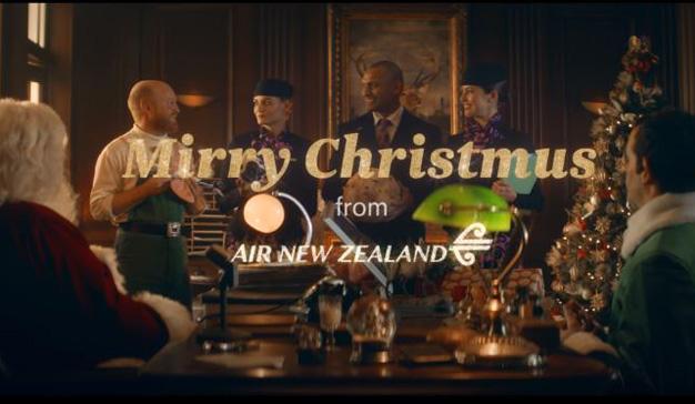 Air New Zealand se burla del acento de su país en este anuncio navideño